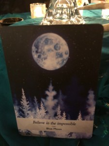 Blue Moon Divination Card