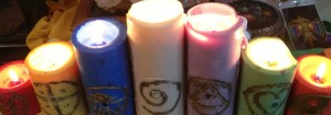 Candle magic sigils