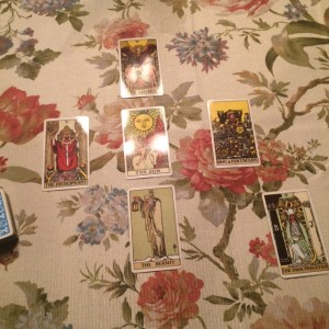 Summer Solstice Guide Around the Sun Tarot Spread