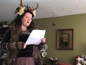 Elboroda tells her story and Gramps witnesses it
