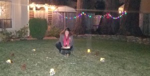 WS 2018 Me lighting Cauldron great yard shot