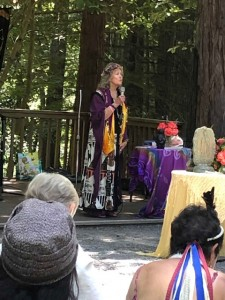 Nancy Dew speaks about the history of the Goddess and her priestesses